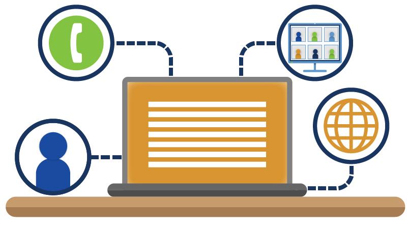 Teletownhall-Webinar-Webcast Multi-Platform Integration by TTHM
